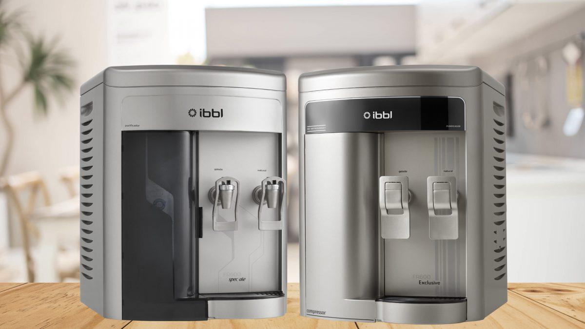 Qual a diferença entre os Purificadores FR600 Speciale e FR600 Exclusive da IBBL?