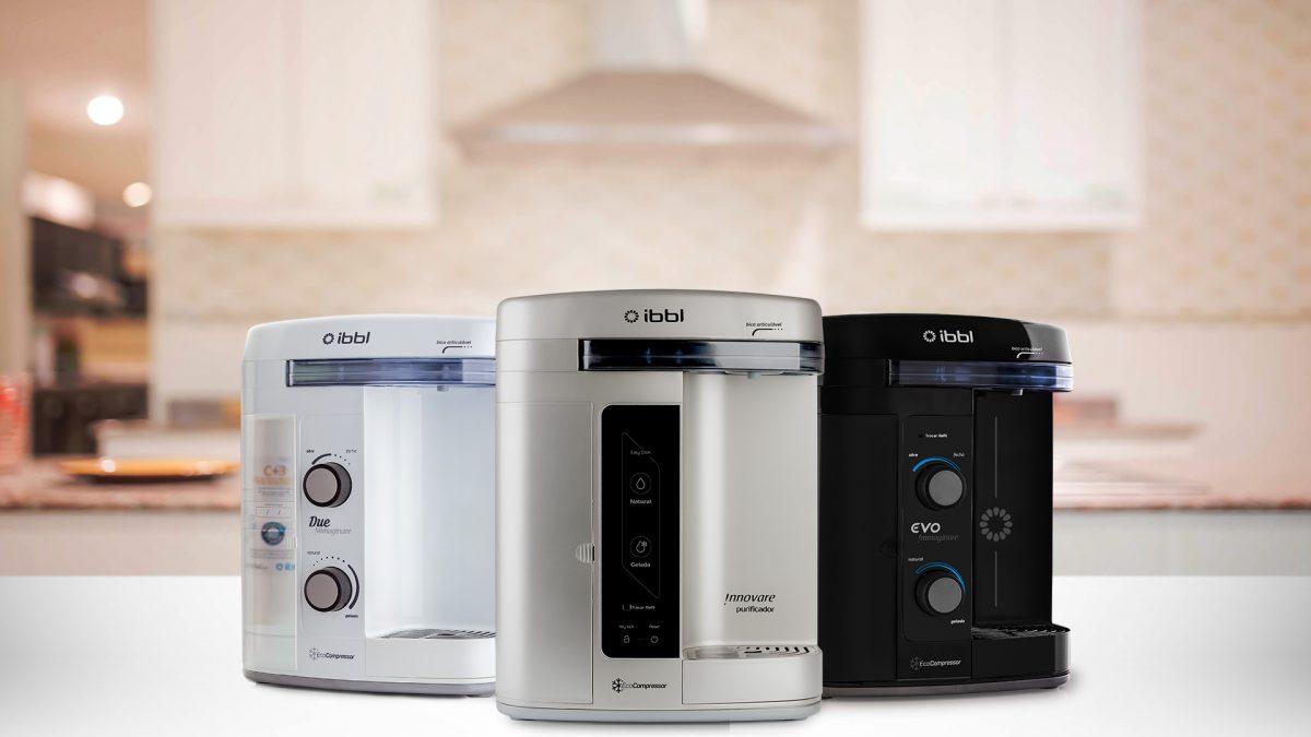 IBBL lança três novos purificadores de água