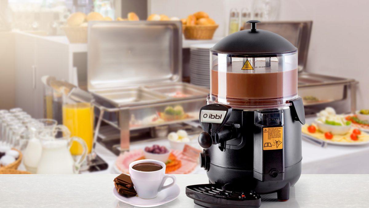 IBBL atualiza versão do Hot Dispenser (chocolateira)