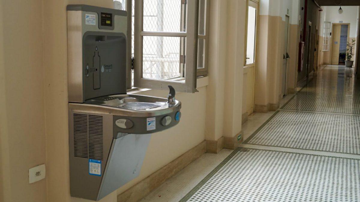 Dante Alighieri inova na oferta de água purificada