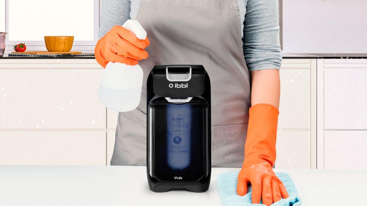 A higienização ideal para o purificador