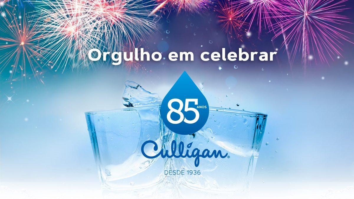 Culligan, há 85 anos melhorando o mundo através da melhor água