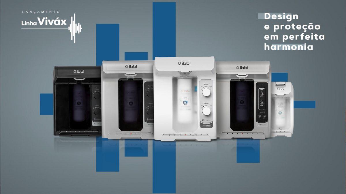 Apaixone-se pela nova linha de purificadores Viváx IBBL: Design e<br>proteção em perfeita harmonia