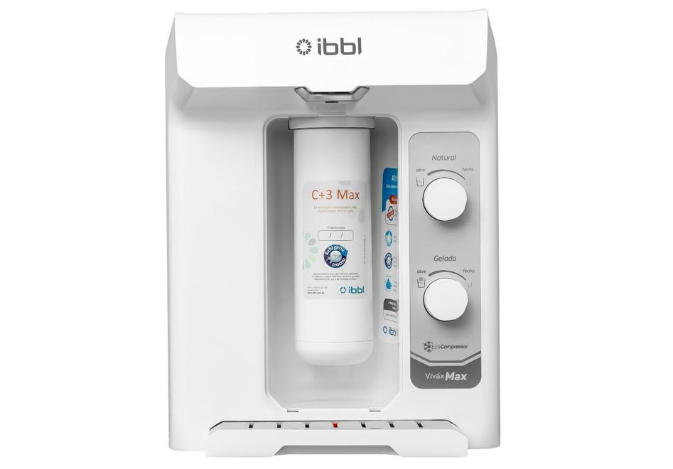 Novo refil C+3 Max IBBL: água pura por até 12 meses